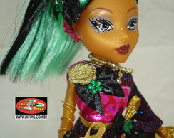 Boneca Estilo Monster High Jinablaze