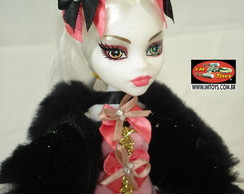 Boneca Estilo Monster High Catrina Salmo