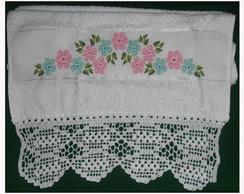 Toalha de banho Floral Romance