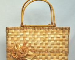 Bolsa de palha de Taboa