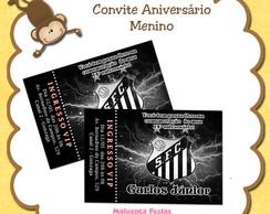 Convite Santos Futebol Clube
