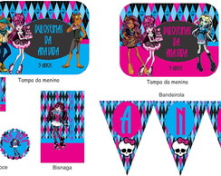 Kit Impresso Monster High