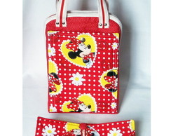 Lunch Bag T�rmica Maior c/ Lugar c Bolso