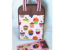 Lunch Bag T�rmica Maior c/ Porta Talher