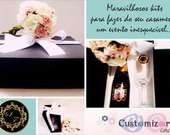 Personaliza��o de kits para casamento