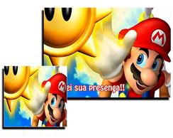 Jogo Americano - Mario Bros