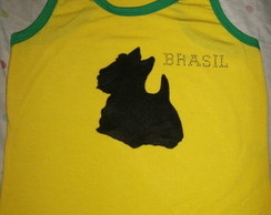 SCOTTISH TERRIER CAMISETA MALHA