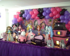 Decora��o Monster High - Loca��o