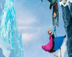 Adesivo Para Tubete Frozen