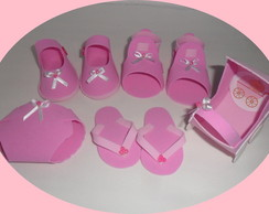 kit ch� de bebe 50 pe�as