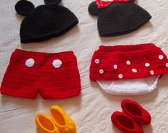 Conjunto New Born - Mickey e Minie