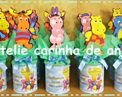 Latas decoupadas Backyardigan