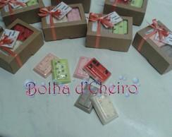 Sabonete Caixinha c/ 6 Mini Chocolates