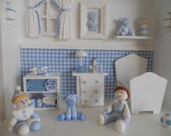 Cen�rio Porta Maternidade Biscuit - P