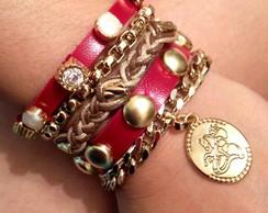Pulseira Bracelete S�o Jorge