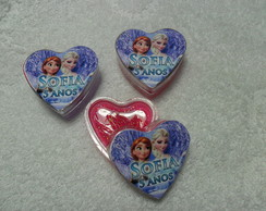 Mini Brilho Cora��o Frozen