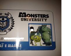 Convite Universidade Monstros S.A