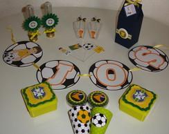 Kit Festa Personalizado Copa Mundo