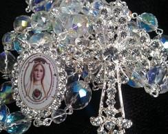 Ter�o de cristal para noivas