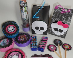 Kit personalizado - Monster High