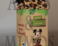 Caixinha De Leite Mickey Safari