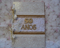 livro de assinatura bodas de ouro