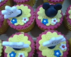Cupcake do Mickey e da Minie