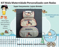 KIT DE MALAS MATERNIDADE  3 PE�AS