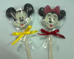 Pirulitos De Chocolate - Mickey