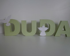 Letra 3D - Anjo