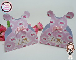 Caixa Vestido Tema Princesas