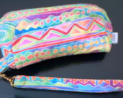Clutch Ethnic pink