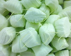 Balas de coco caseiras - Lim�o.