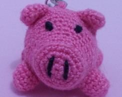 Chaveiro Porquinho de Croch�