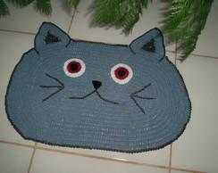 Tapete Gato Azul