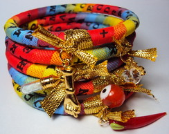 Mix Pulseira Patu� Bonfim Color�