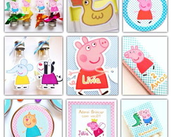 Kit Festa Completo - Peppa Pig