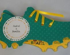 Convite Chuteira Brasil