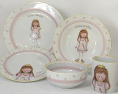 "Kit ""Princesa"" 5 pe�as"