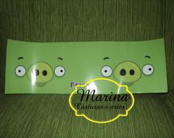 R�tulo adesi Lata Leite 400g Angry Birds