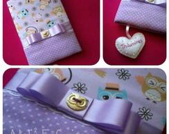 Caderno _Capa de tecido