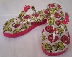 Chinelo Monstrinho