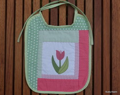 Babador feminino tulipa