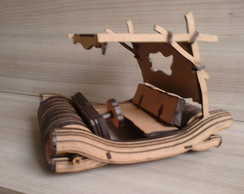 DECORA��O CARRO FLINTSTONES MDF
