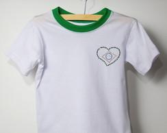 Camiseta Copa - Brasil Cora��o