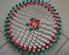 Tapete Flor em Croch�