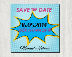 Save The Date - Arquivo Para Imprimir