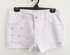 Short Spikes Navy Branco