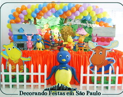 Decora��o Mesa Backyardigans