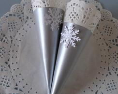 Cone para Guloseimas Tema Frozen